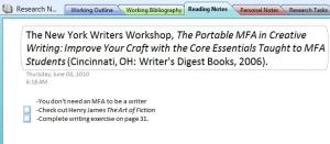 Portable mfa in creative writing new york writers workshop